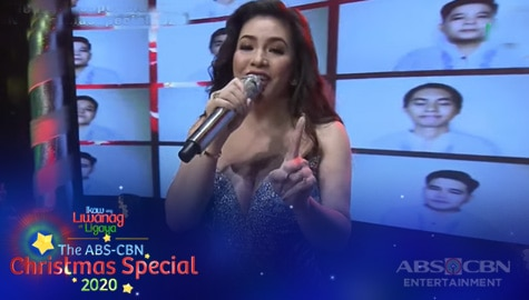 """WATCH: Regine Velasquez belts out """"It's Christmas All Over The World"""" with Koro Jesu 