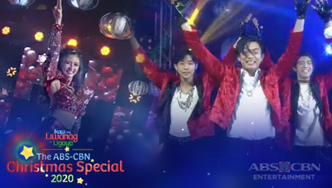 "WATCH: Kim Chiu dances to ""Jingle Bell Rock"" with SHA Boys | ABS-CBN Christmas Special 2020 Image Thumbnail"