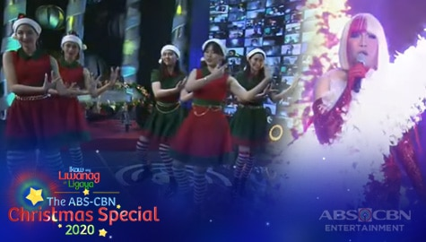 """WATCH: Vice Ganda performs """"Underneath The Tree"""" with BINI 