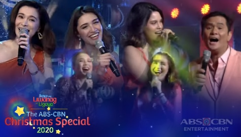 WATCH: Kapamilya Stars share Christmas stage with their family | ABS-CBN Christmas Special 2020 Image Thumbnail