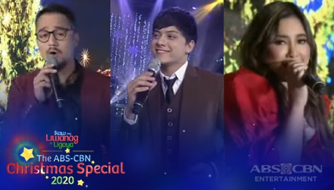 WATCH: Daniel, JM and Moira perform your favorite Christmas songs | ABS-CBN Christmas Special 2020 Image Thumbnail