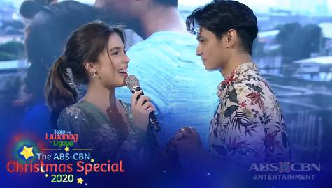 ABS-CBN Christmas Special 2020: Michelle and Kiko's kilig performance Image Thumbnail