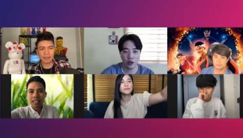 Guess Who game with the stars of Mang Kepweng: Ang Lihim ng Bandanang Itim Image Thumbnail