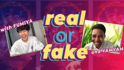 Real or Fake Challenge with Fumiya Sankai & Yamyam Gucong  Image Thumbnail