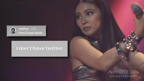 TV Patrol: Nadine, nilinaw na wala siyang Twitter account at ipinaliwanag ang viral photo sa hiking trail