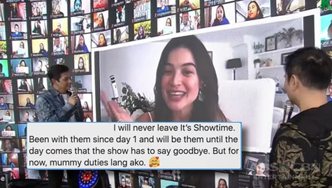 TV Patrol: Anne Curtis, hindi iiwan ang It's Showtime Image Thumbnail