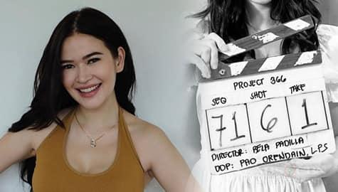 TV Patrol: Bela Padilla, natapos na ang kanyang directorial debut na '366' Image Thumbnail