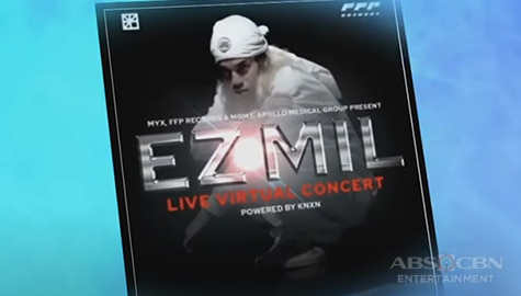 TV Patrol: EZ Mil, may virtual concert sa Abril Image Thumbnail