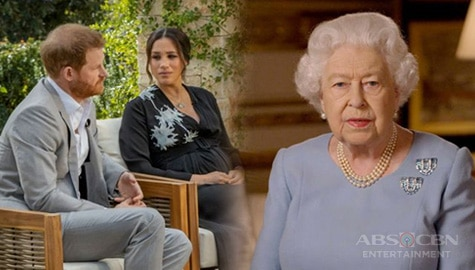 TV Patrol: Queen Elizabeth, nagsalita na kaugnay ng interview nina Prince Harry at Meghan Markle Image Thumbnail