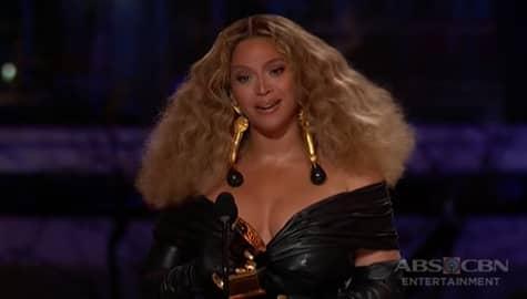 TV Patrol: Beyonce, gumawa ng kasaysayan bilang most-awarded female artist ng Grammys Image Thumbnail