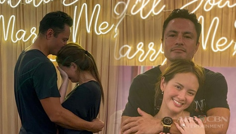 TV Patrol: Ellen Adarna at Derek Ramsay, engaged na Image Thumbnail