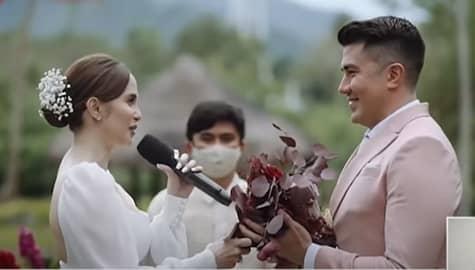 TV Patrol: Luis Manzano at Jessy Mendiola, idinitalye ang kanilang civil wedding Image Thumbnail