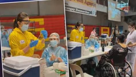 TV Patrol: Dra. Vicky Belo, nag-volunteer para tumulong sa pagpapabakuna ng senior citizens Image Thumbnail