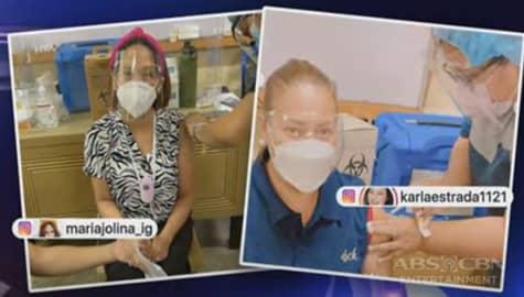 TV Patrol: Jolina Magdangal at Karla Estrada, nagpabakuna na laban sa COVID-19 Image Thumbnail