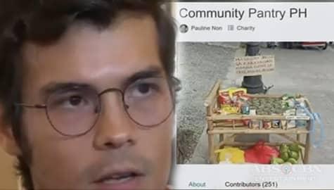 TV Patrol: Donasyon ni Erwan Heussaff para sa Maginhawa community pantry, pinuri ng netizens Image Thumbnail