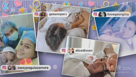 TV Patrol: Ilang celebrity moms, nanganak na Image Thumbnail