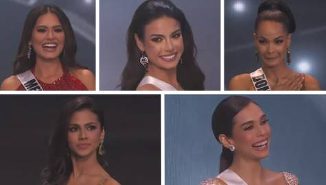 Meet your Top 5  Finalists   Miss Universe 2020 Image Thumbnail