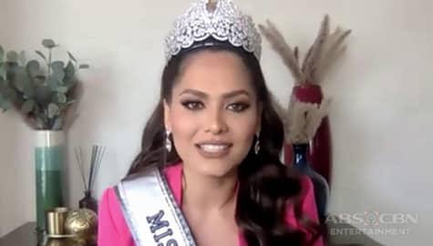 TV Patrol: 2020 Miss Universe Andrea Meza, hindi nakadama ng kaba sa kabuuan ng kompetisyon Image Thumbnail