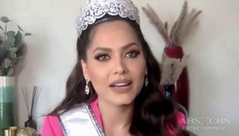 TV Patrol: Andrea, pursigidong tulungan ang kababaihan bilang bagong Miss Universe Image Thumbnail