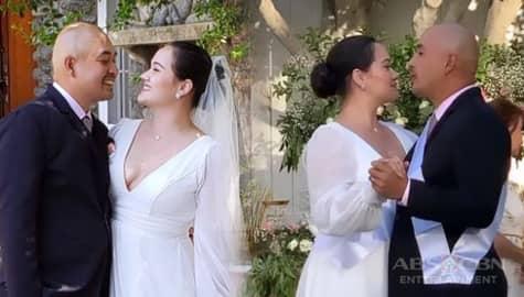 TV Patrol: Melissa Ricks, ikinasal na sa fiancé niyang si Michael Macatangay Image Thumbnail