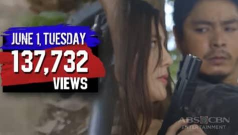 TV Patrol: FPJ's Ang Probinsyano, nagtala ng anim na bagong online record sa dami ng manonood Image Thumbnail
