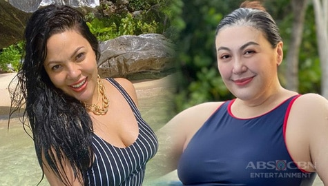 TV Patrol: Mag-inang Sharon Cuneta at KC Concepcion, naglabas ng beach photos Image Thumbnail