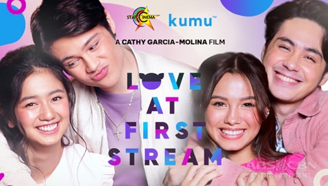 TV Patrol: Bagong love teams na Kaori-Rhys at Daniela-Anthony, bibida sa pelikulang Love at First Stream Image Thumbnail