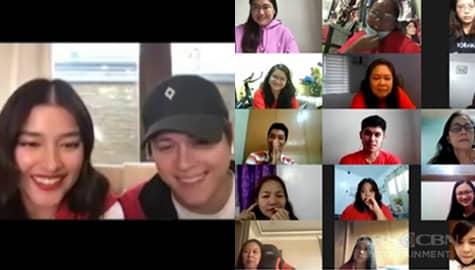 TV Patrol: Liza Soberano at Enrique Gil, reunited sa kanilang loyal fans sa isang virtual fan meet Image Thumbnail