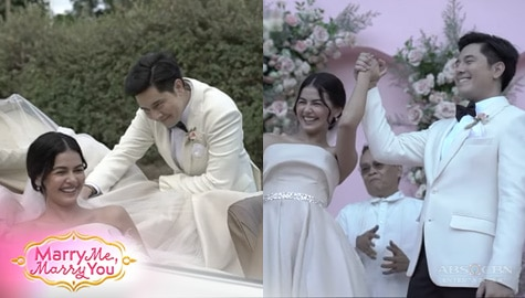 WATCH: Behind-The-Scenes of Marry Me, Marry You Promo Shoot | Online Exclusive Image Thumbnail