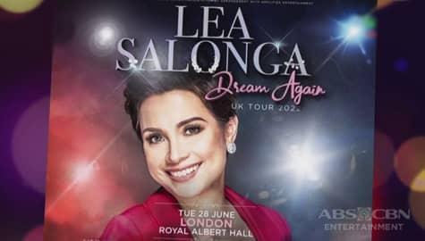 """TV Patrol: Lea Solanga, sasabak sa """"Dream Again Tour"""" sa New York at London sa Hunyo 2022"""