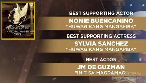 TV Patrol: 11 ABS-CBN programs and personalities, wagi sa 2021 Asian Academy Creative Awards Image Thumbnail