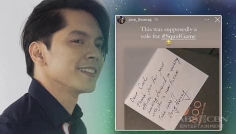 """TV Patrol: Carlo Aquino, kabilang sana sa hit Korean series na """"Squid Game"""" Image Thumbnail"""