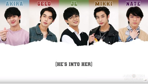 """LYRIC VIDEO: """"He's Into Her"""" by BGYO Image Thumbnail"""