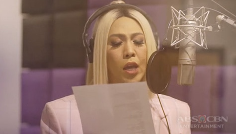 BEHIND THE SCENES: Vice Ganda's recording of Everybody Sing theme song (With Lyrics) Image Thumbnail