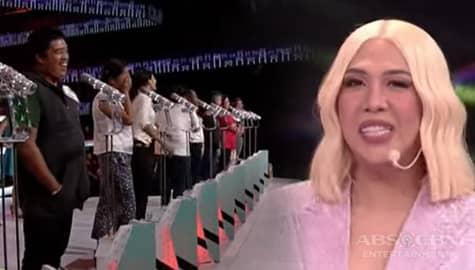 Everybody Sing 100 Songbayanan: Palengke vendors sing Dahil Sa'yo | ReverSing Image Thumbnail