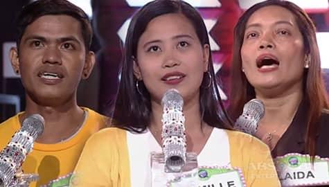 Everybody Sing: Taal Survivors sing Sampaguita's Bonggahan   Sing in the Blank Image Thumbnail