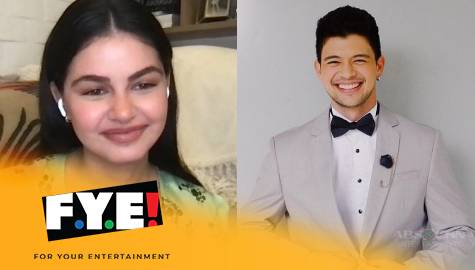 Janine Gutierrez on Rayver Cruz:  A super caring, sweet boyfriend who's very close to my family  Image Thumbnail
