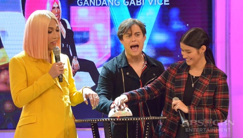 GGV: Enrique, nakuryente nang sagutin ang tanong ni Liza sa KuryenTanong Image Thumbnail