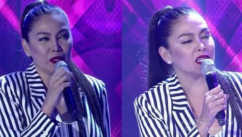 """GGV: K Brosas, damang dama ang kanyang performance  ng awiting """"Natatawa Ako"""" by Aegis Image Thumbnail"""