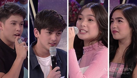 GGV: Cassie at Marga, nagkampihan sa rap battle laban kina Kristoff at Mikoy Image Thumbnail
