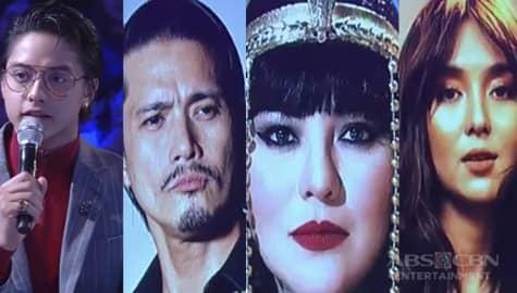"""GGV: Daniel, may mga katanungan para kina Robin, Karla, at Kathryn sa """"Tanong Mo, Mukha Mo"""" Image Thumbnail"""