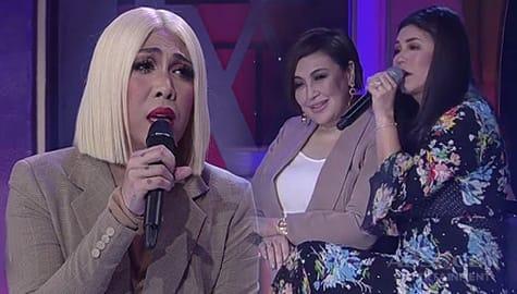 "WATCH: Sharon, Regine and Vice Ganda perform ""Ikaw"" on GGV Image Thumbnail"