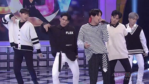 GGV: SB19 accepts Vice Ganda's speed dance challenge