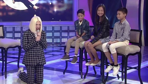 GGV: Vice Ganda, napaluhod sa pagkanta ng The Voice Kids champion na si Vanjoss Image Thumbnail