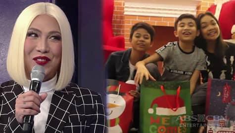 GGV: Vice, binigyan ng maagang Christmas gifts sina Vanjoss, Carmelle at Cyd Image Thumbnail