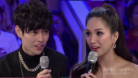 """What happened to you?"" Fumiya, na-weirduhan sa pagsasalita ni Roxanne Barcelo sa GGV Image Thumbnail"