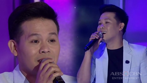 "WATCH: America's Got Talent runner-up Marcelito Pomoy will make you fall in love with his performance of ""Ikaw at Ako"" by Moira and Jason Image Thumbnail"