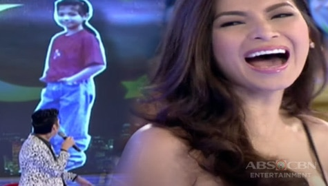 GGV Throwback: Angel Locsin, naloka sa mga pinakita ni Vice na old pictures niya Image Thumbnail