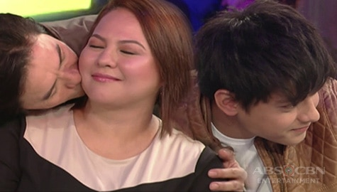 GGV Throwback: Daniel, hindi kinaya ang dare ni Vice kina Karla at Rommel Image Thumbnail
