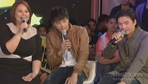 "GGV Throwback: Daniel, Karla and Rommel perform ""Ako'y Sa'yo at Ika'y Akin Lamang"" Image Thumbnail"